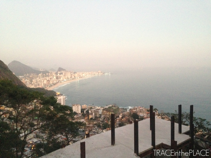 View of Ipanema from Vidigal Favela